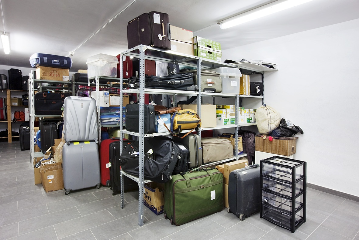Image result for luggage storage